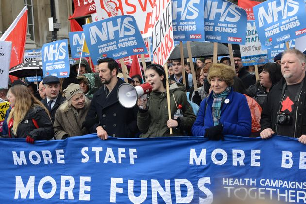 The reduced availability of EU workers have 'aggravated existing staff shortages', such as in the NHS;...