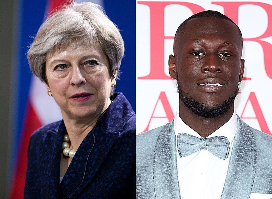 Theresa May 'Absolutely Committed' To Grenfell Victims, As She Responds To Stormzy's Brits
