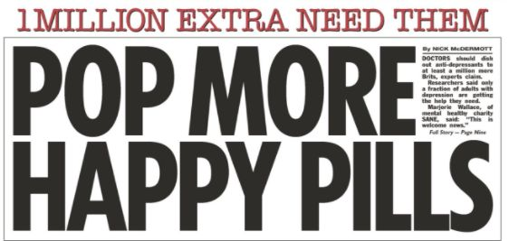 Mental Health Charities Slam The Sun For Calling Anti-Depressants 'Happy