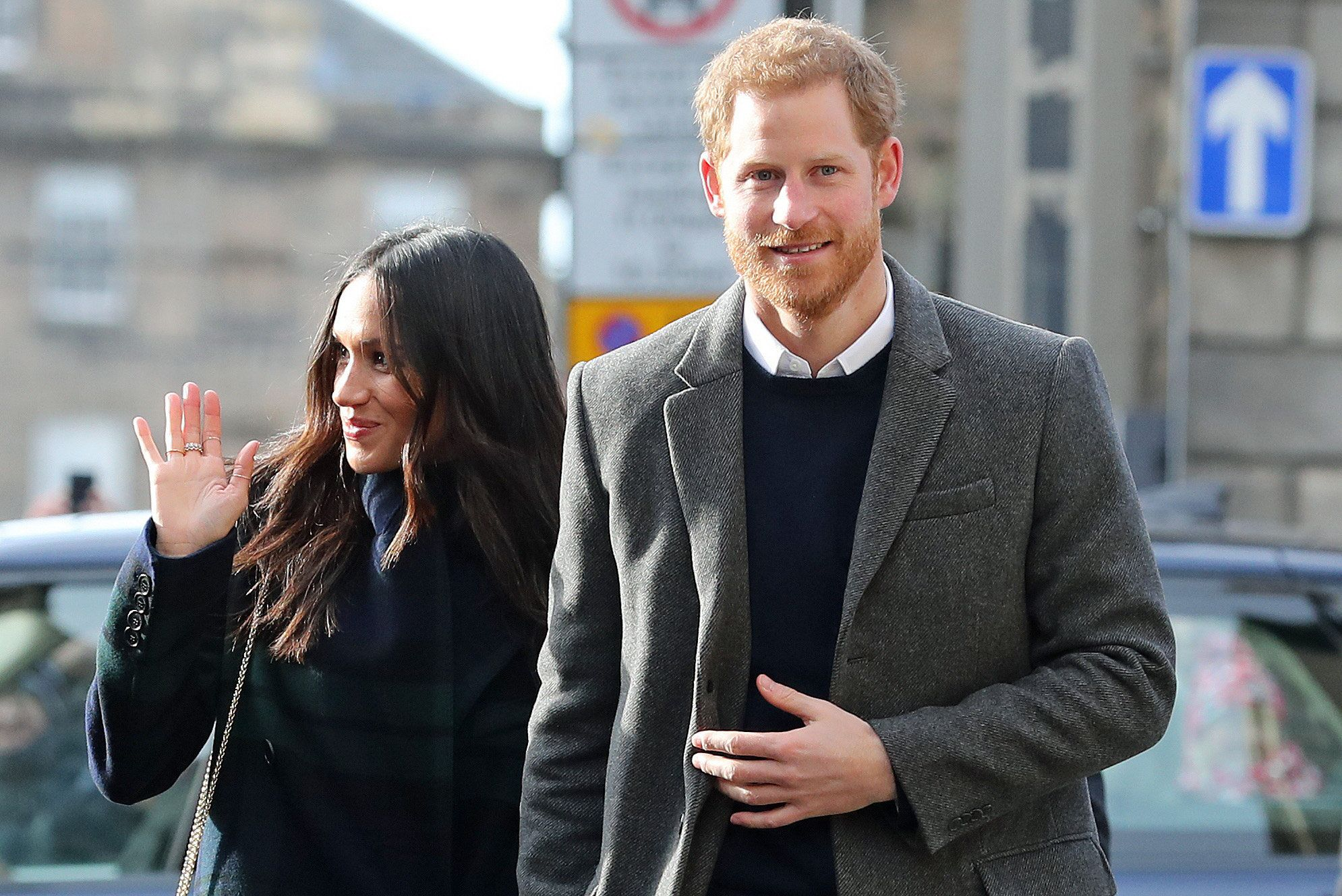 A letter containing a suspicious white substance was sent to Meghan Markle and Prince