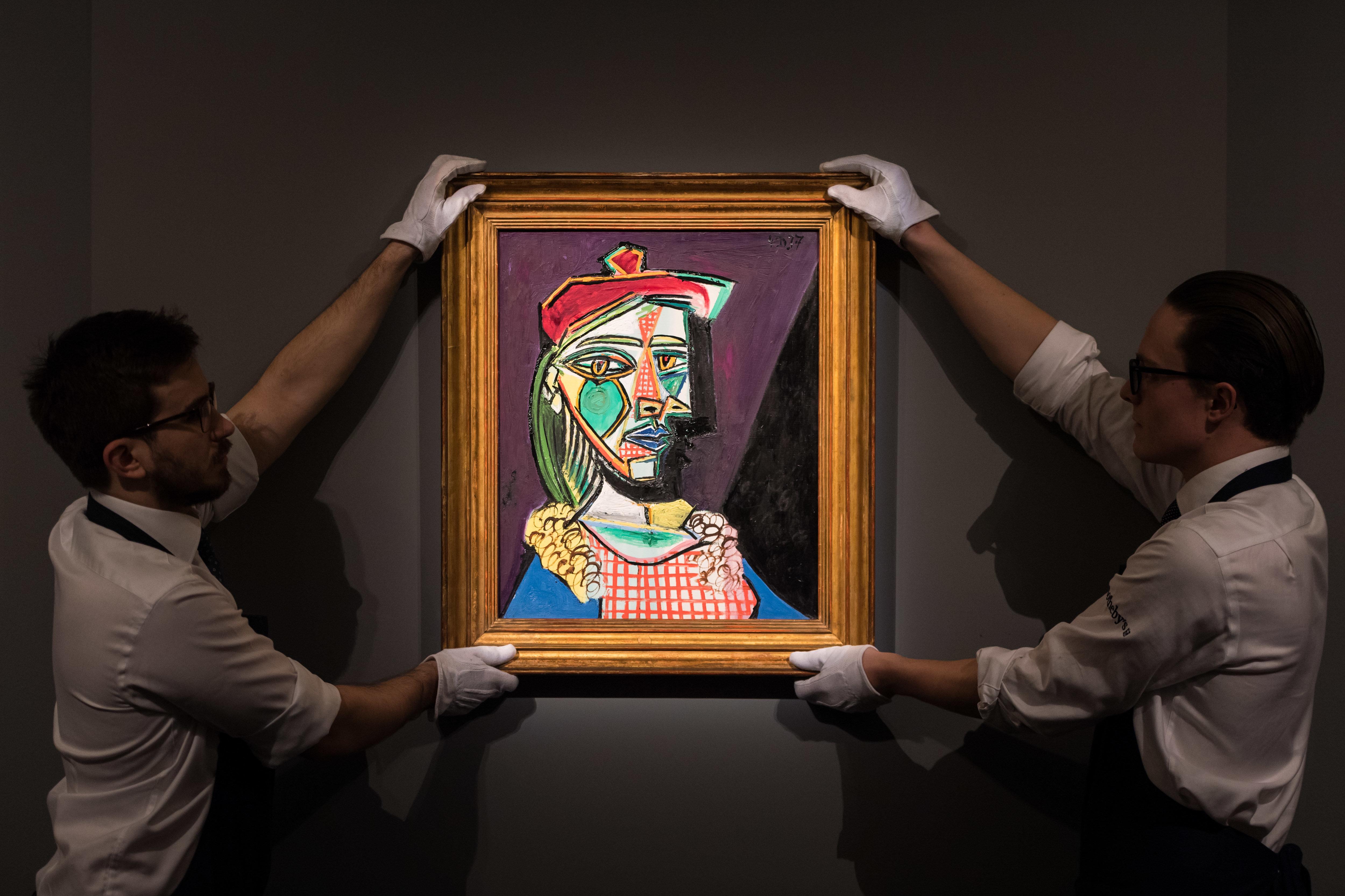 Οι δύο ερωμένες του Picasso: Ο πίνακας που τις απεικονίζει δημοπρατείται στο