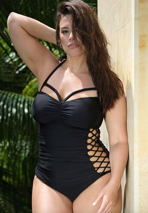 """<strong>Sizes</strong>: 4 to 24<br>Get it <a href=""""https://www.swimsuitsforall.com/Swim-Sexy-The-Boss-Swimsuit#rrec=true"""" tar"""