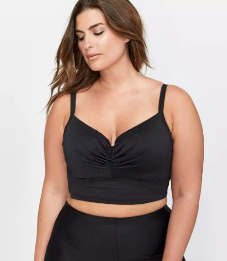 """<strong>Sizes</strong>: X to 4X<br>Get it <a href=""""https://www.additionelle.com/en-us/cactus-sweetheart-underwire-bikini-top/"""