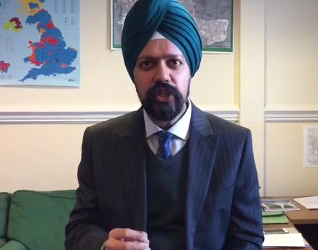 Sikh MP Tan Dhesi 'Disgusted' After Guest Has Turban Ripped Off Outside