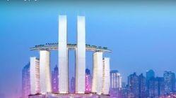 «Κρυστάλλινο διάδρομο», σε ύψος 250μ που θα ενώνει 4 ουρανοξύστες και θα διαθέτει ακόμη και πισίνα, κατασκευάζει η