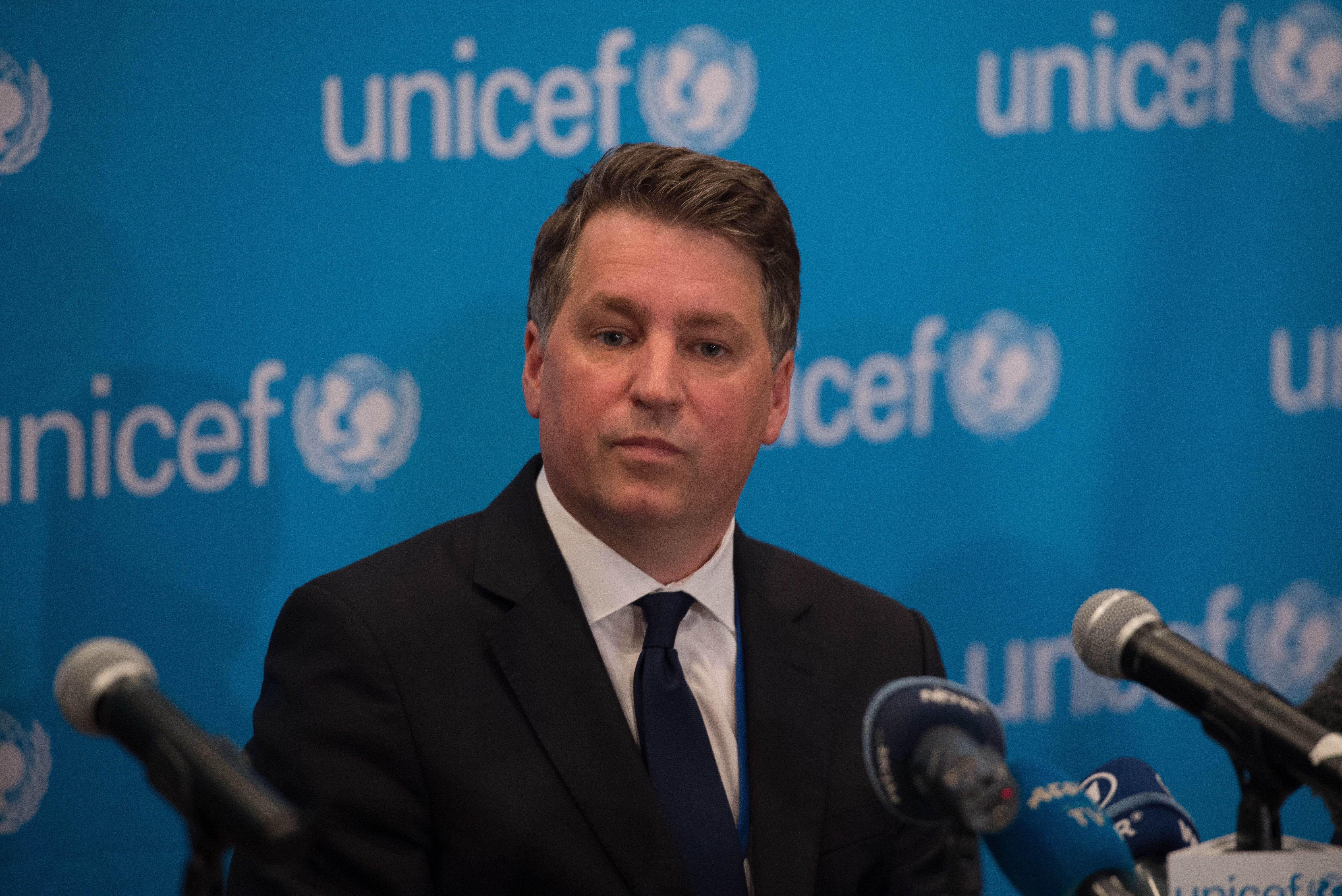 Justin Forsyth announces Unicef resignation