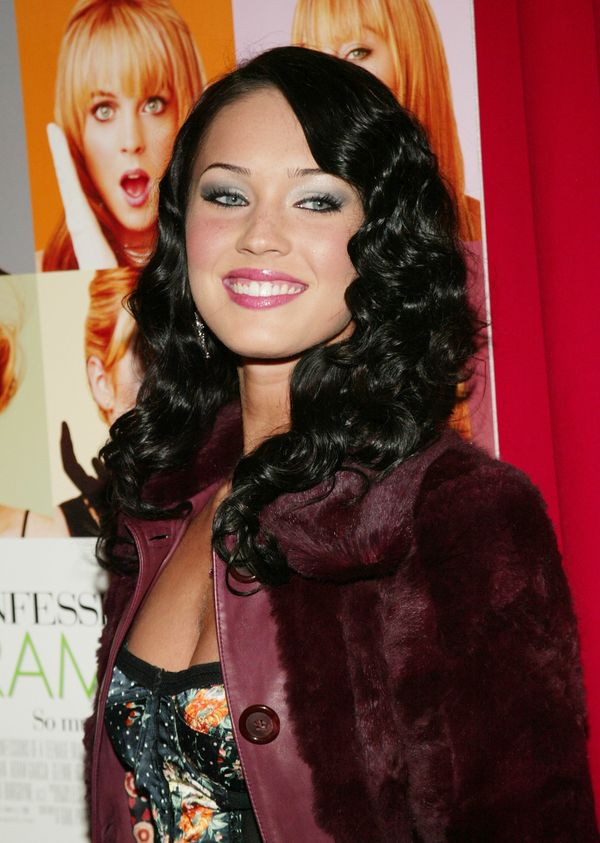 """At the '""""Confessions Of A Teenage Drama Queen"""" premiere at the Loews E-Walk Theater on Feb. 17, 2004, in New York City."""