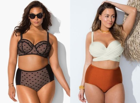 these stunning plus-size swimsuits with underwire are here to lift