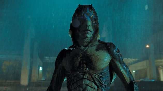 Doug Jones as the sea monster in