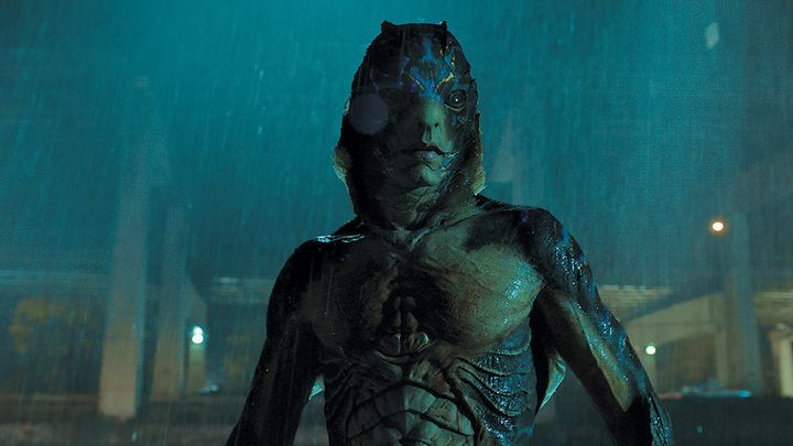 "Doug Jones as the sea monster in ""The Shape of Water."""