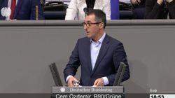 """""""Sie verachten Deutschland"""": Özdemir zerlegt im Bundestag die AfD für Antrag zu Deniz Yücel"""
