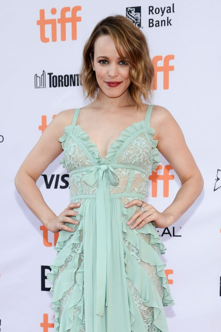 "Rachel McAdams attends the ""Disobedience"" premiere during the 2017 Toronto International Film Festival."