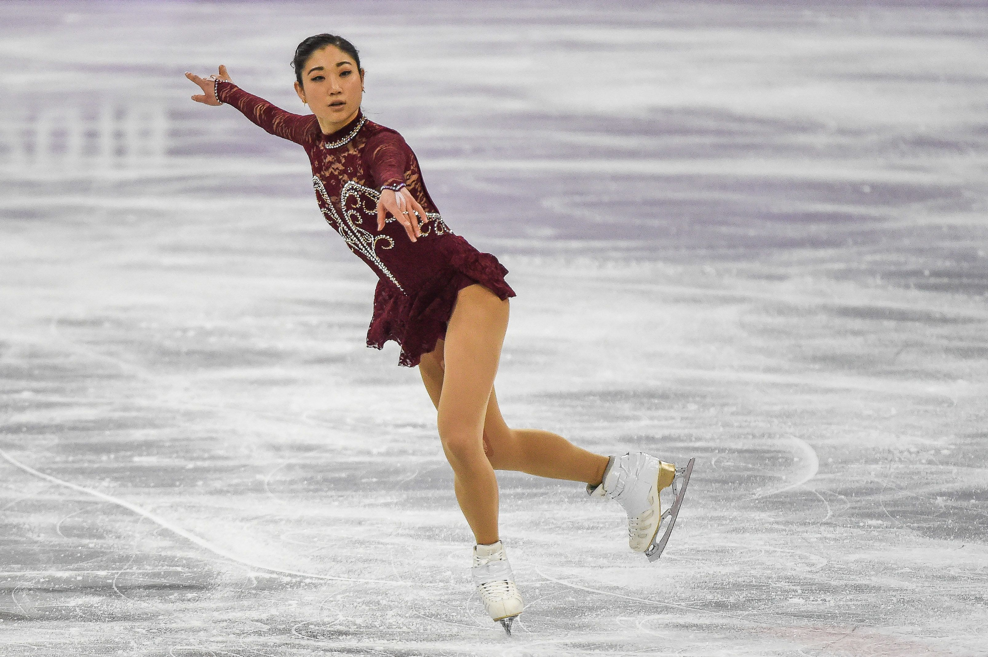 Mirai Nagasu is the first American woman to land a triple axel at the Winter Games.