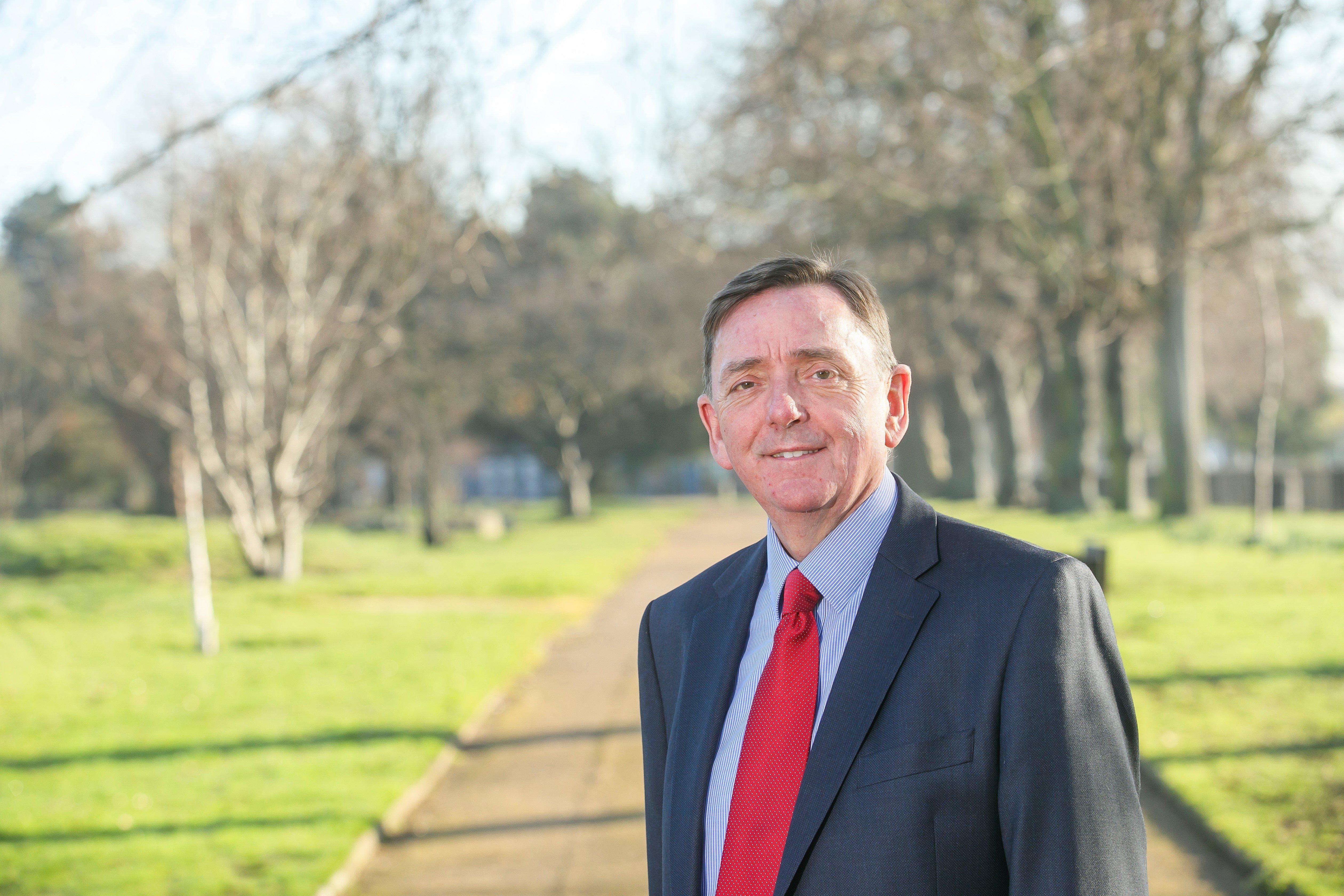 Newham Mayor Sir Robin Wales