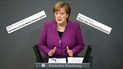 Das sind die 4 größten Kritikpunkte an Merkels Regierungserklärung