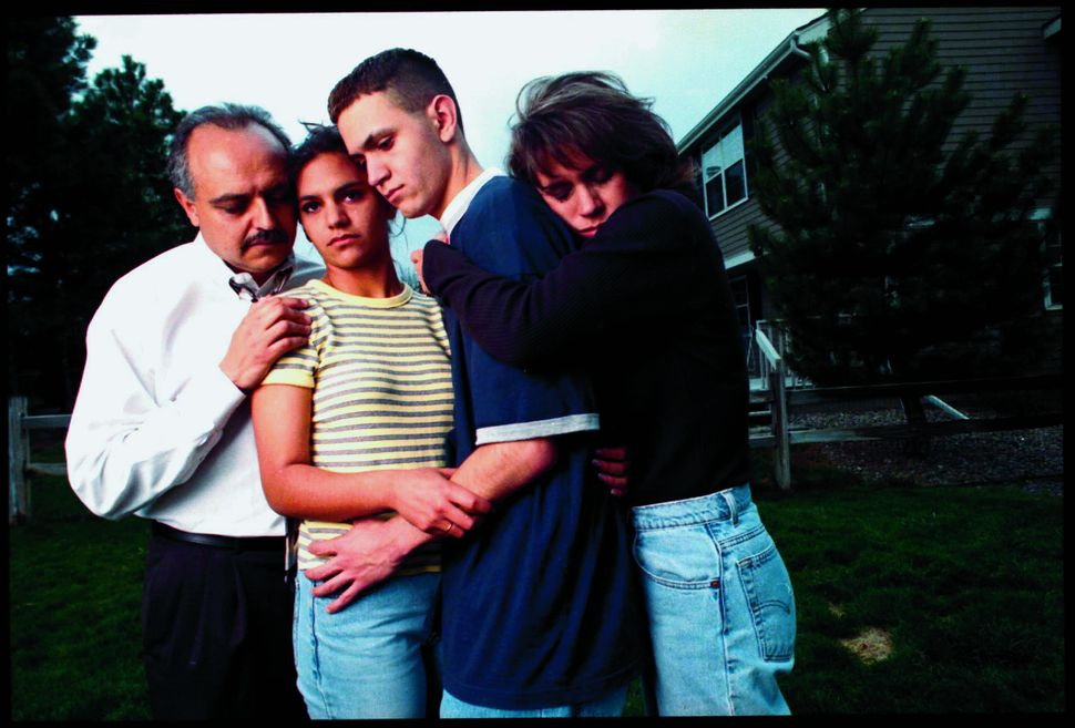 Zachary Cartaya took this photograph with his family soon after surviving the Columbine attack in 1999. He say