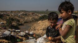 70만명 몰린 로힝야 난민들의 정착촌 상황은