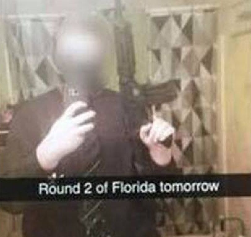 A false threat that started in South Carolina one day after the school shooting in South Florida quickly spread to other stat