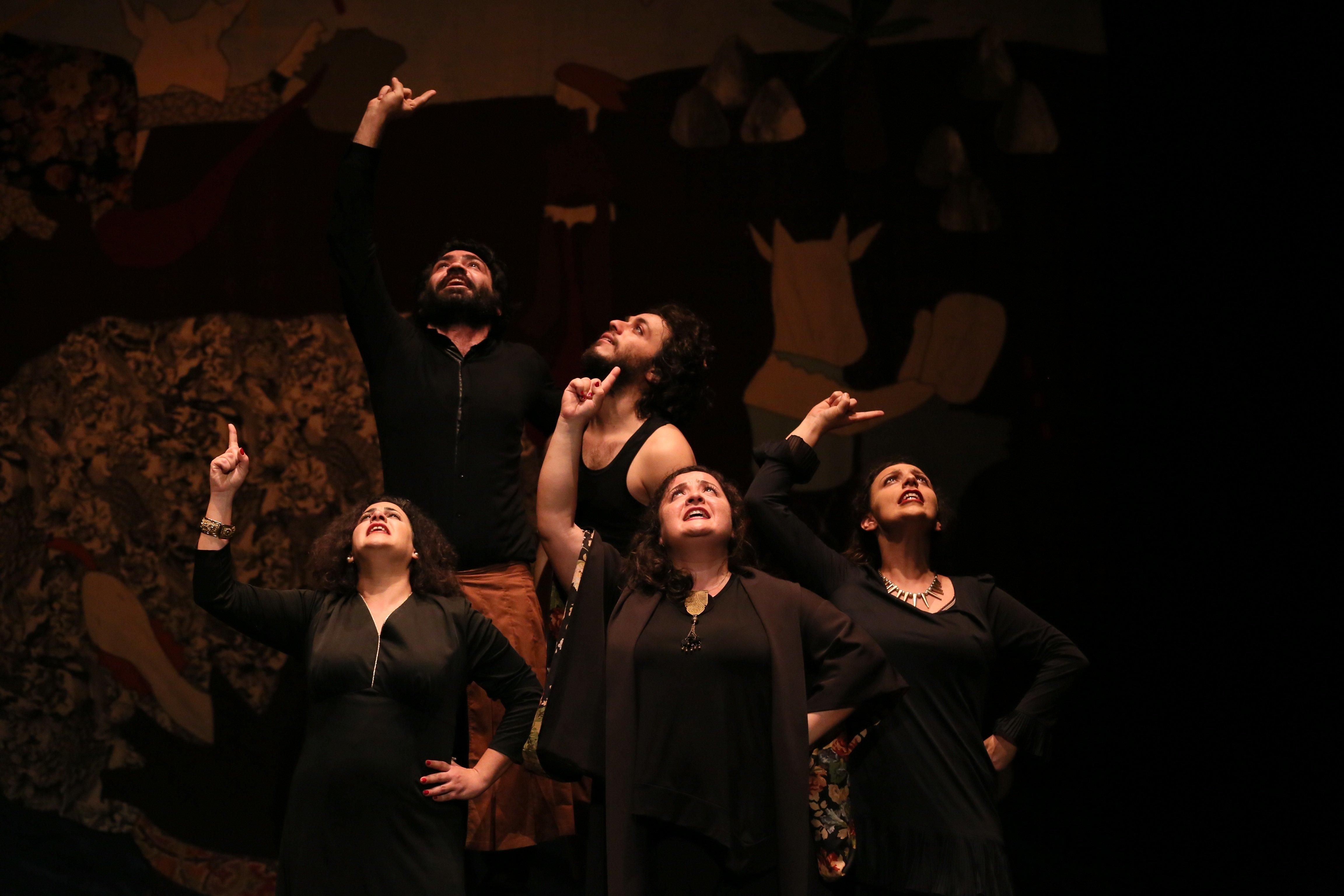 Wie ein libanesisches Theater Gewaltopfern mit einem einzigartigen Ansatz neues Selbstvertrauen