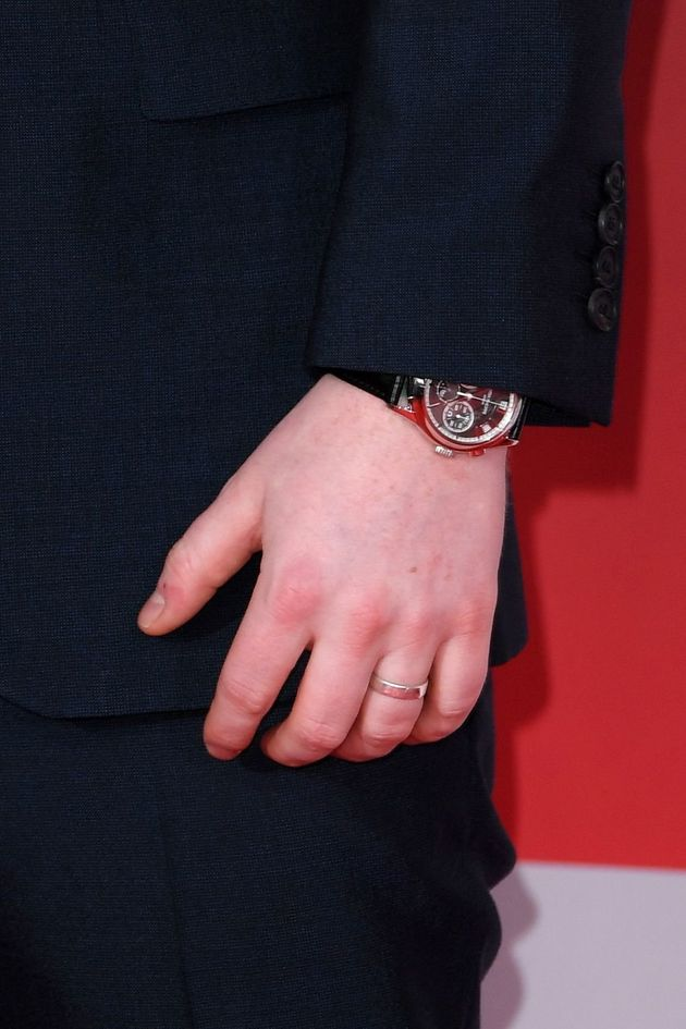 Ed Sheeran's engagement ring was made for him by his fiancée Cherry