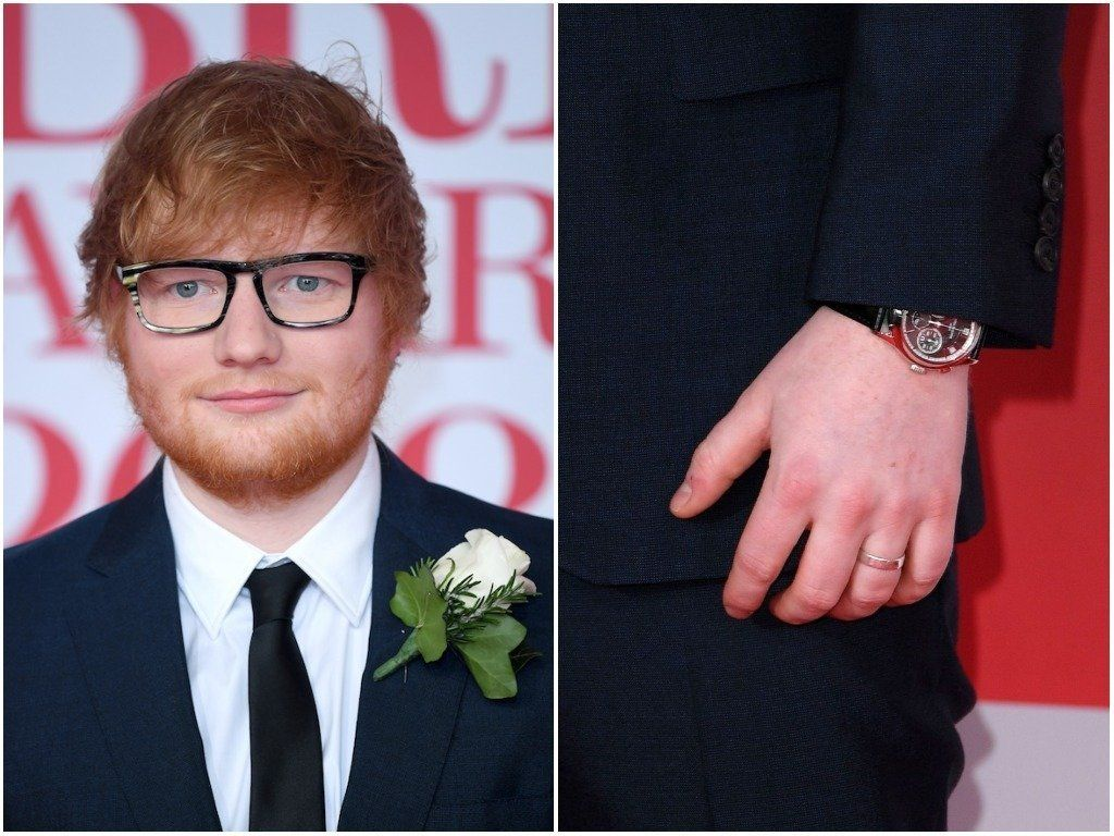 The Trend For Men's Engagement Rings Started Long Before Ed