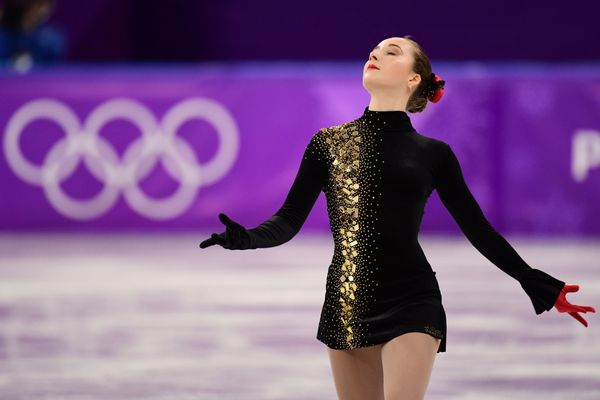 As far as figure skating costumes go, the Ukrainian athlete's is quite conservative. But that's what we love about it -- it's