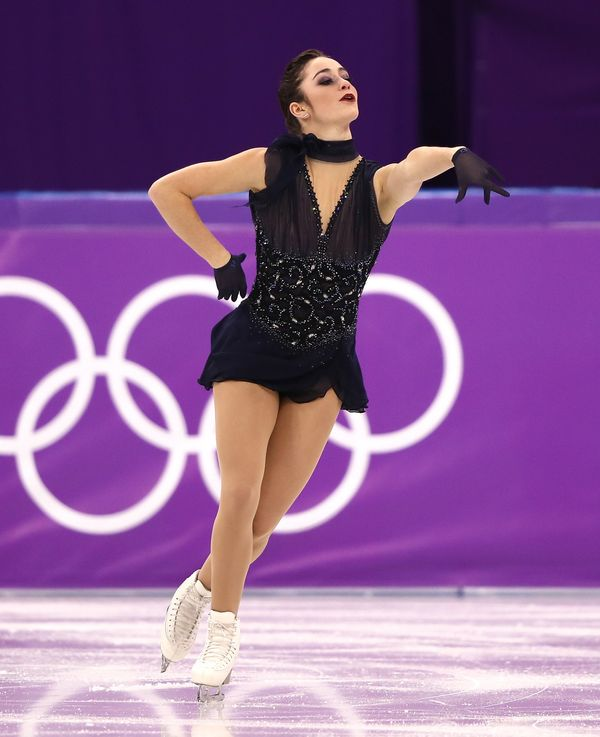 This costume, worn by the Canadian athlete for her short program, was one of our favorites of the competition.It looked