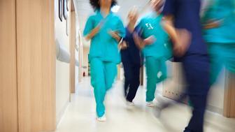Emergency alarm in the hospital