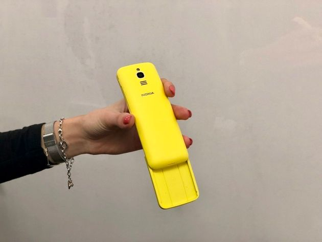 Remember The Nokia 8110 Slider From The 90s? It's Back And It's Bright