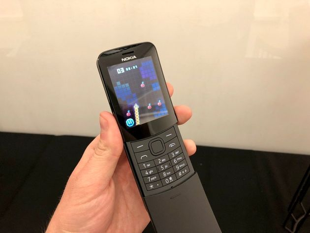 Nokia 8110: Remember The Slider From The 90s? It's Back And It's Bright