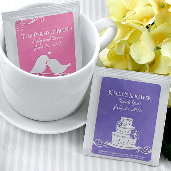 "Get a set of 30 for $20 <a href=""https://www.etsy.com/listing/470292845/wedding-favor-tea-personalized-tea?ga_order=most_rele"