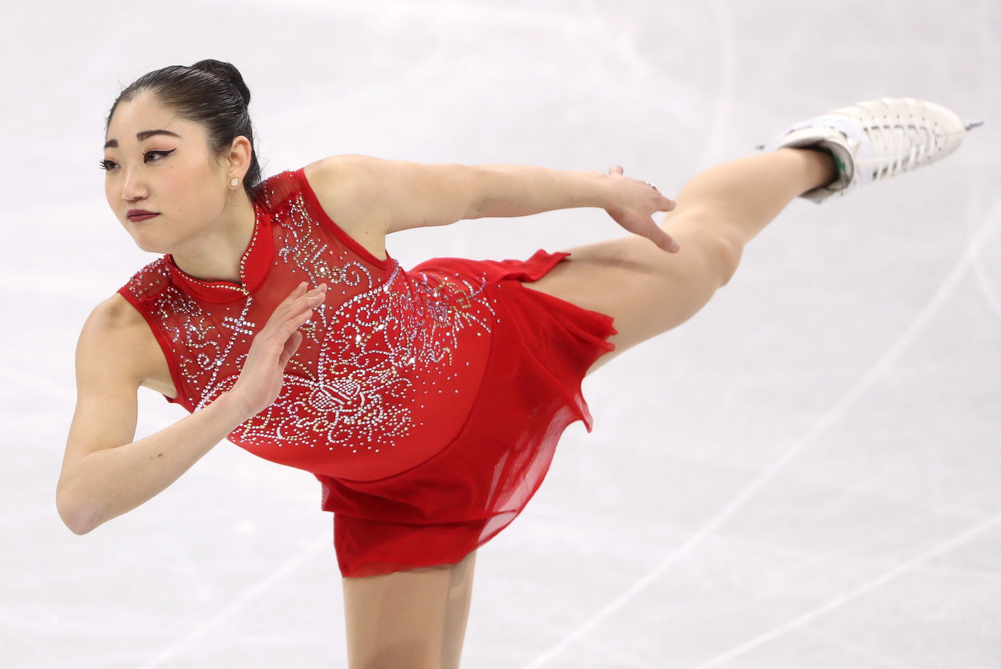 Valery Sharifulin via Getty Images The 24-year-old'scredits her parents drive as her inspiration