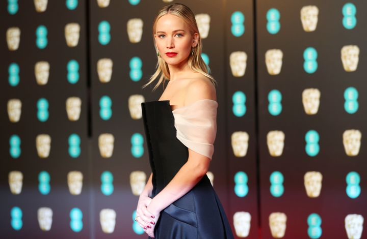 Jennifer Lawrencepictured at the BAFTA's in London on Feb. 18, 2018.