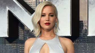 Actor Jennifer Lawrence arrives at a screening of X-Men Apocalypse at a cinema in London, Britain, May 9, 2016.   REUTERS/Hannah McKay/File Photo