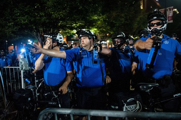 St. Louis Police officers