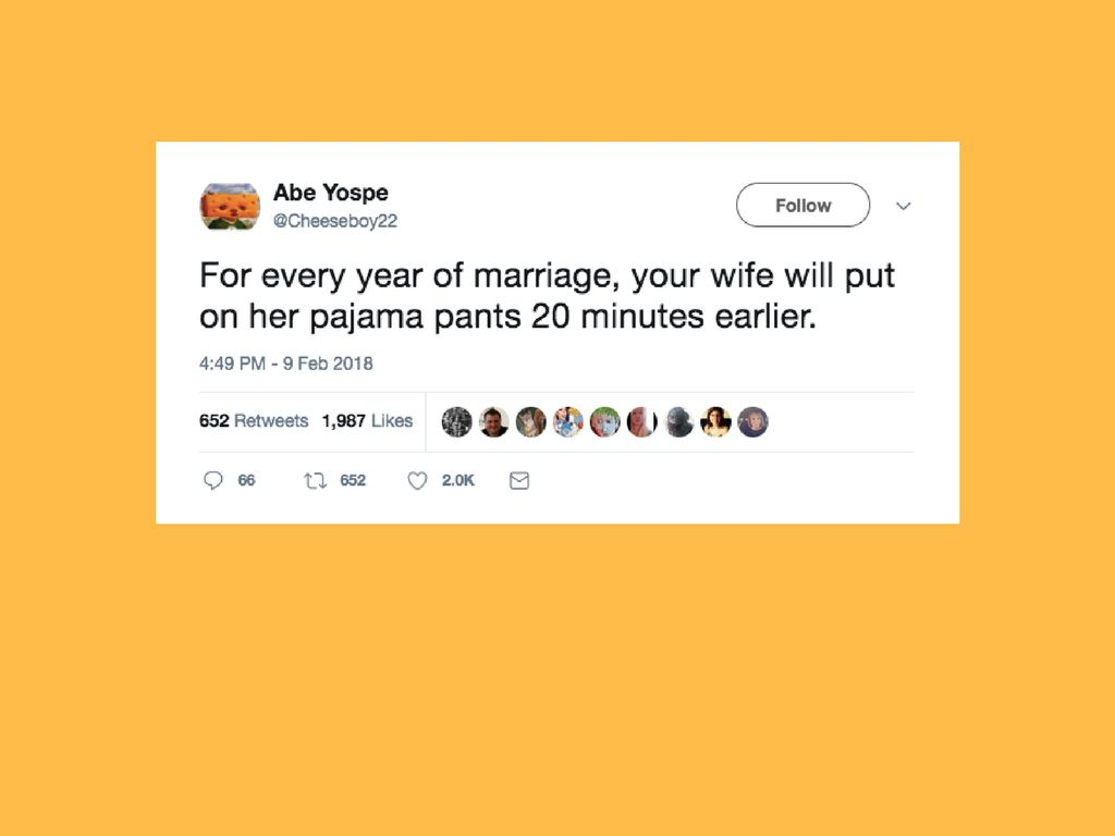 29 Tweets That Will Prepare You For The Realities Of Married