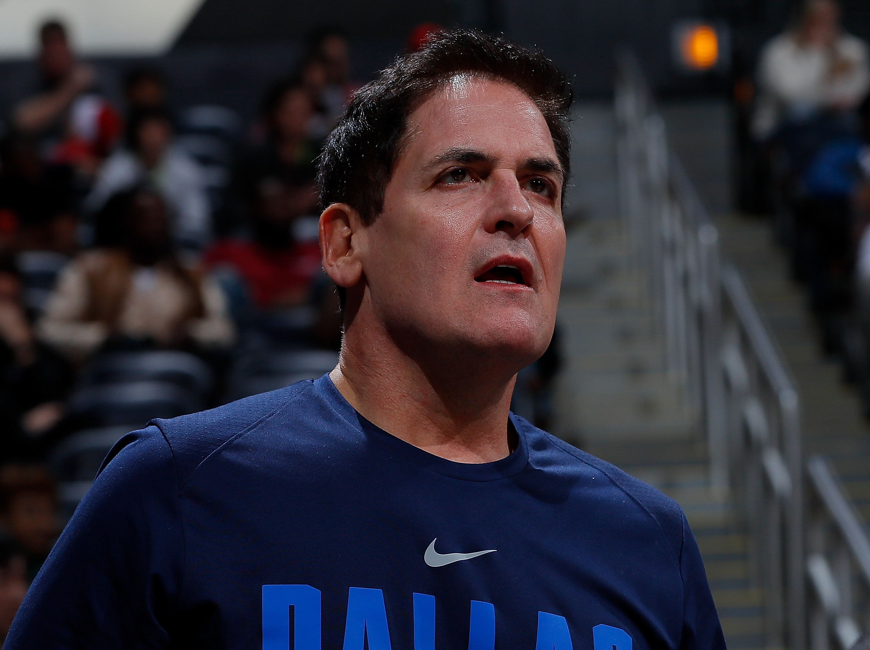 Dallas Mavericks owner Mark Cuban.