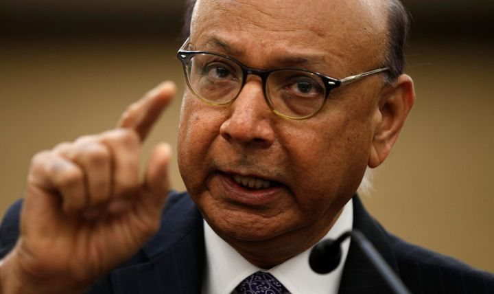 Khizr Khan, the Gold Star father who famously addressed the 2016 Democratic National Convention, spoke in Seattle on Feb. 19