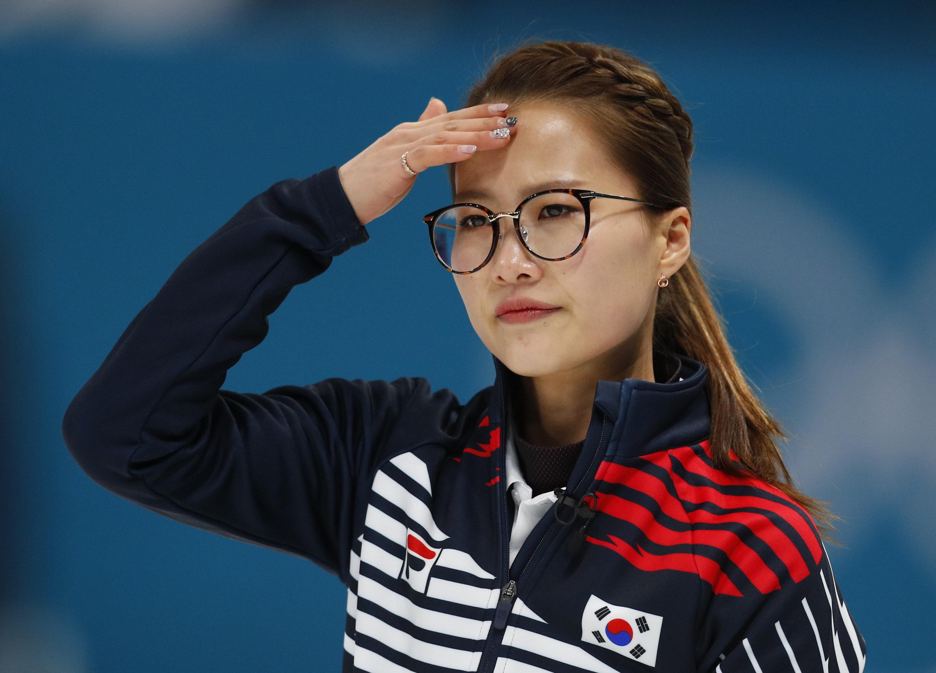'안경 선배' 김은정이 결승 진출에 대한 소감을