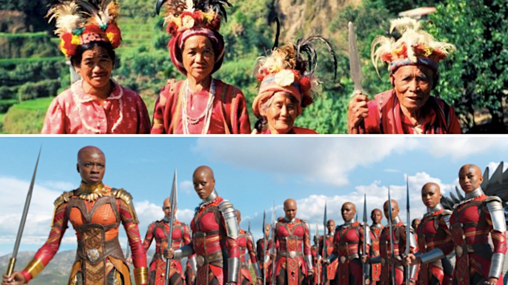 Tribal Filipinos Were A Surprising Muse For Black Panther S Dora Milaje Huffpost