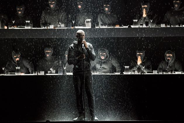 Stormzy at the Brit