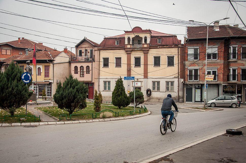Γειτονιά της νότιας Μιτρόβιτσα.