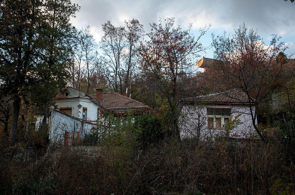 Γειτονιά στη βόρεια Μιτρόβιτσα.