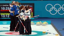 여자 컬링팀은 마치 '슬램덩크'와