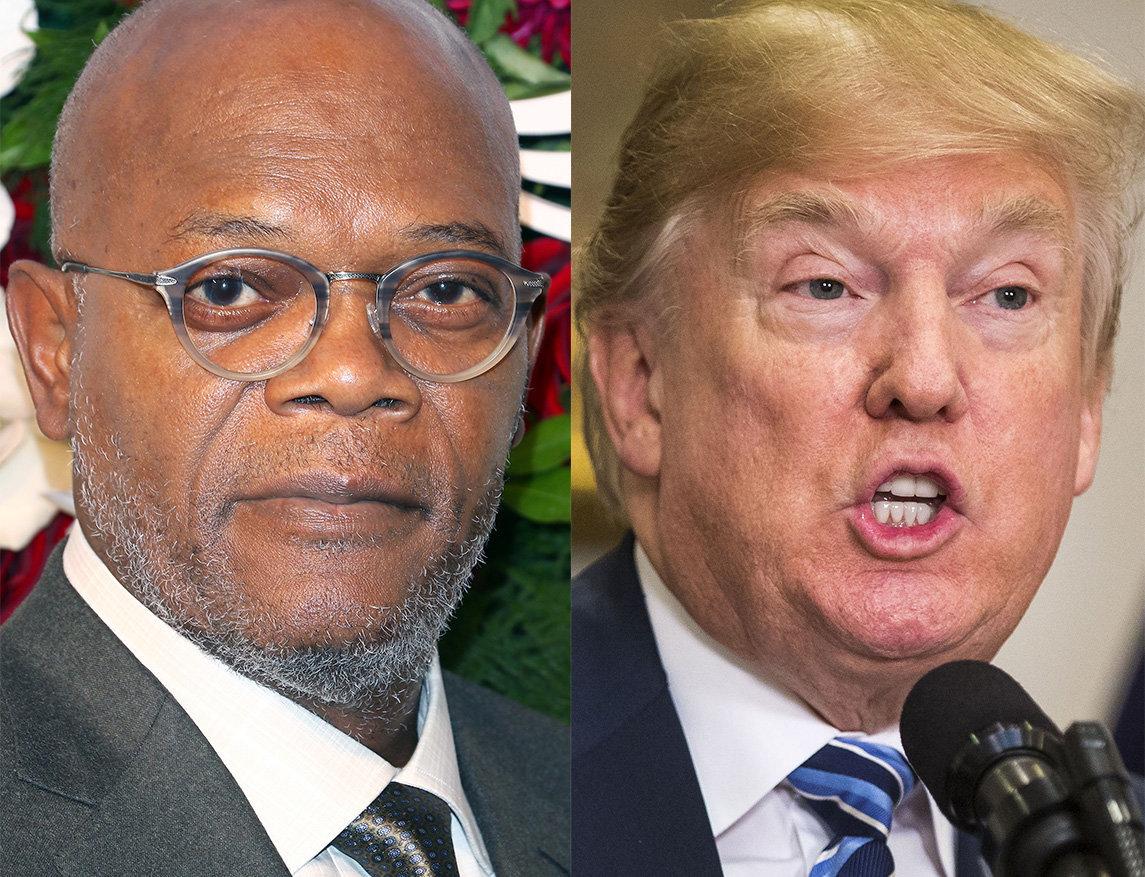 Samuel L. Jackson Shreds 'Mothaf***a' Donald Trump Over Armed Teachers Idea