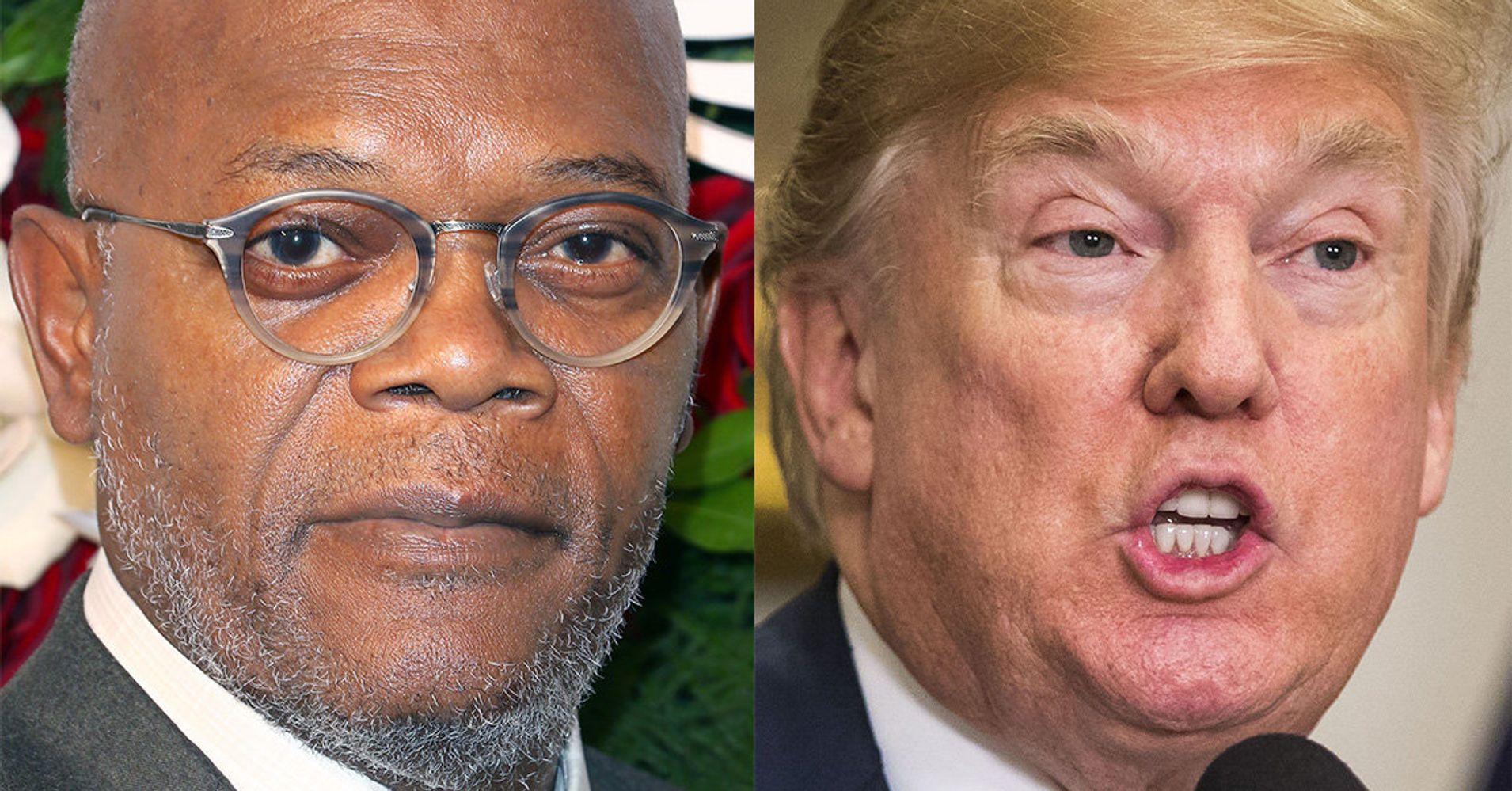Samuel L. Jackson Shreds 'Mothaf***a' Trump Over Armed Teachers Idea