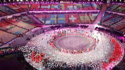 Stunning Photos Capture The 2018 Olympics' Closing Ceremony In All Its