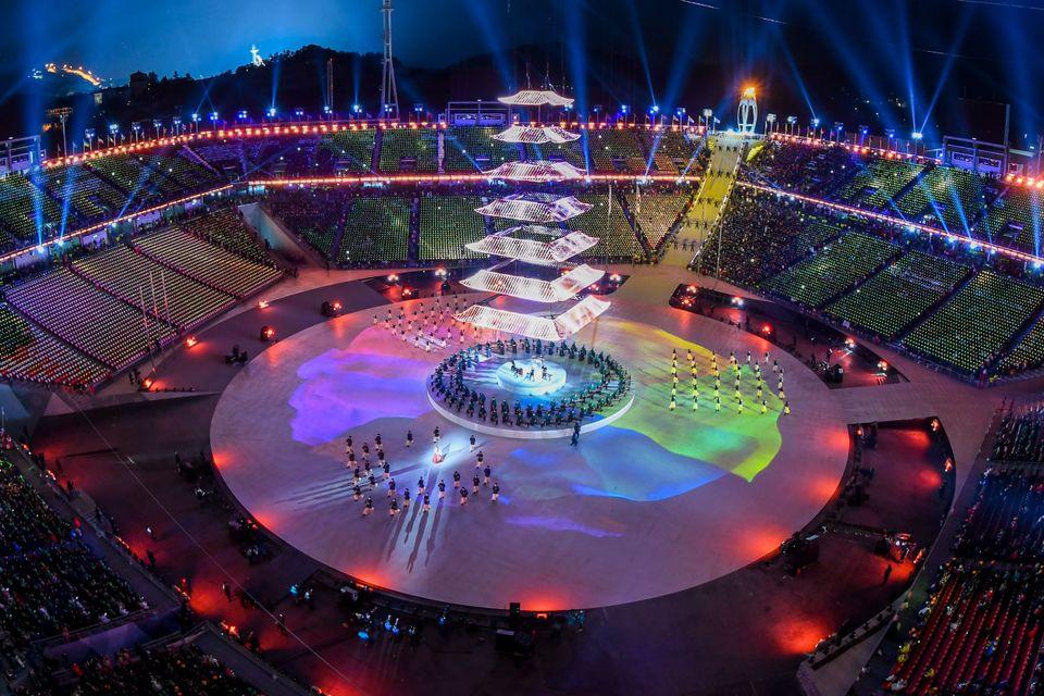 ThePyeongchang 2018 Winter Olympics' closingceremonyoffereda range of entertainment, from vibrant, ne