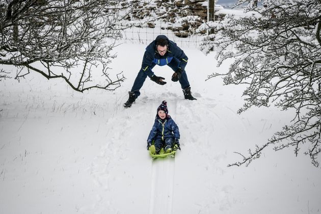 Widespread snow is forecast for the