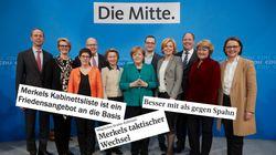 Medien loben das CDU-Kabinett – und sehen den Kampf um die Nachfolge eröffnet